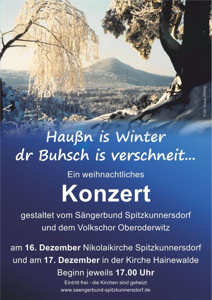 Adventskonzert Sängerbund 2017